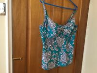 Two piece ladies swim suit size 16