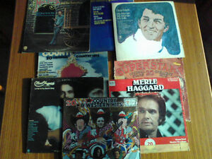 COUNTRY CASSETTES & VINYL RECORDS