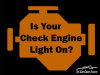 Code Reading Service for Check Engine Lights