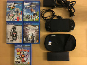 Selling PS vita with Games