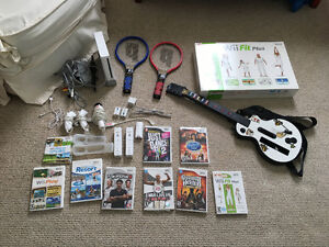 Ninetendo Wii with Games and Add-ons Included