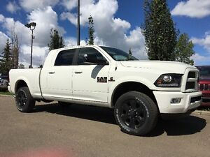 2016 RAM 3500 DIESEL MEGA CAB LARAMIE  BUILT TO HAUL ANYTHING !!