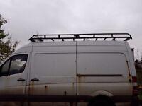 Rhino Roof Rack fits MWB Mercedes Sprinter