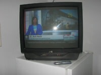 """27"""" JVC TELEVISION + NEW REMOTE"""