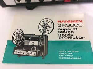 HANIMEX SR9000 SUPER 8 SOUND MOVIE PROJECTOR VINTAGE  Cornwall Ontario image 1