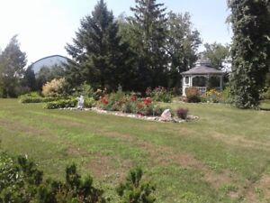 Maison champêtre(10min gare St-Hilaire-Beloeil-A20)prix révisé