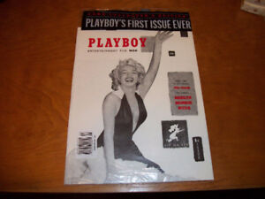 PLAYBOY'S FIRST ISSUE EVER Rare Collector's Edition (Marilyn)