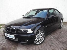 BMW 325Ci SPORT COUPE, MARCH 2018 MOT, MANUAL GEARBOX, FULL SERVICE HISTORY