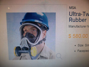 MSA Respirator Face Piece ULTRA TWIN Small MSA 471298 Mask New