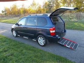 2008 58 Kia Sedona 2.9 TS TOP SPEC Wheelchair Accessible Disabled Adapted Access