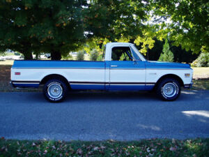 WANTED RUST/DENT  FREE BODY PARTS FOR 69-72 C10