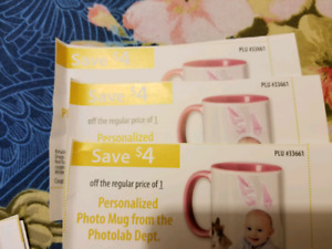 3 personalized mug discount coupon