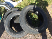Three P275/60R20 for 120$ all