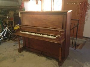 Beautiful Vintage Upright Piano