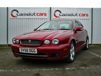 2008 (58) JAGUAR X TYPE SE 2.2D DIESEL, LEATHER, SAT NAV, 12M MOT 6M WARRANTY