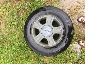 Ford Escape rims with winter tires