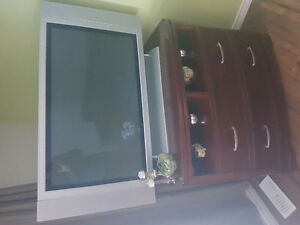 TV Stand For Sale With Free TV