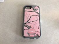 iPhone 5/5s otterboxcase defender case pink camo