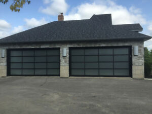 Contemporary Aluminum garage doors *BEST PRICE* - FREE QUOTE *t