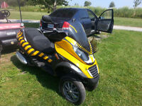 2007 PIAGGIO MP3 3 WHEEL SCOOTER 4200KM!!!!