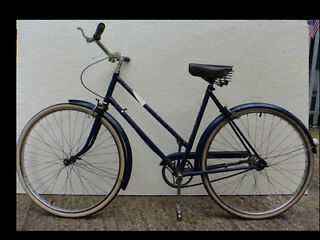 Raleigh dutch bike for Ladies - Serviced Warranty- frame 21in Welcome in The Peanut Factory