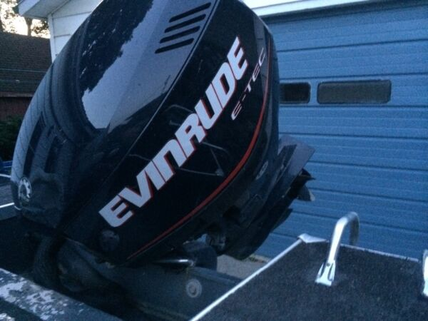 Used 2006 Alumacraft Boat Co Evinrude etec 115