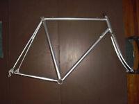 VITUS 979 Silver Aluminium Frameset 56cm FRAME & FORK large