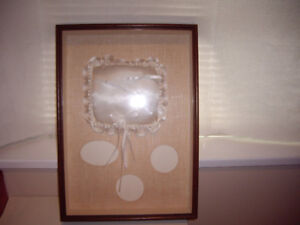 WEDDING PICTURE FRAME WITH PILLOW