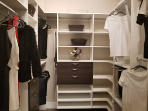 Showroom Closet  For Sale AS IS