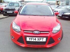 2014 Ford Focus 1.6 TDCi 115 Zetec 5dr 5 door Hatchback