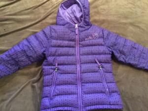 Manteau de duvet pour jeune fille