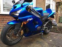 2005 Kawasaki Ninja ZX6R 636 CH1 -less than 10k miles!!