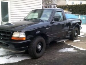 ford ranger step side manuel,145000km original