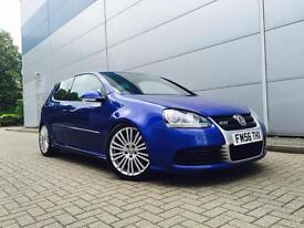 2006 56 Reg Volkswagen Golf R32 3.2 V6 4Motion + Blue + SAT NAV + LEATHER +