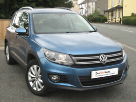 Volkswagen TIGUAN 4x4 2.0 TDI Match 140ps Manual 4-Motion 2014 : 30k mi