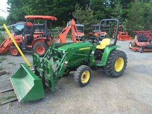 JOHN DEERE 3038E-ONLY 400hrs