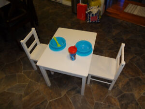 Childs 3pc Wood Table & Chairs by Dorel