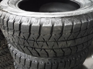 255/50R19 CONTINENTAL 4X4 WINTER SET OF 2 USED TIRES70% tread