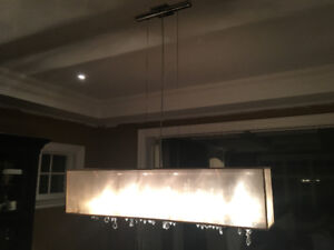 Gorgeous Dining room light fixture
