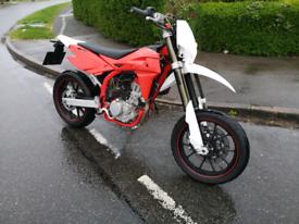 2017 SWM SM125R 125cc motorcycle bike