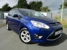 2014 Ford Grand C MAX 1.6 TDCi ZETEC 5DR TURBO DIESEL ** ONLY 10,000 MILES * ...
