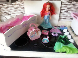 Ariel Toddler Doll with Accessories and Cloths