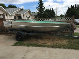 Aluminum fishing boat, etc. for sale