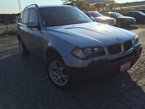 2006 BMW X3 2.5i SUV, Crossover Accident Free, Panoramic Sunroof
