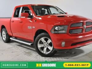 2016 Ram 1500 Sport 4X4 Hemi Cuir Bluetooth Camera Hitch USB/MP3