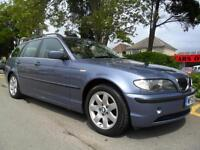 BMW 325 2.5 2003 SE TOURING ESTATE COMPLETE WITH M.O.T HPI CLEAR INC WARRANTY