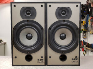 Vintage B&W DM110 Bookshelf Speakers