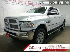 2015 Ram 2500 Longhorn  - Navigation -  Leather Seats -  Bluetoo