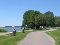 4.5 with balcony Waterfront $950 Heated June, JULY or August