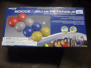 boccie ball set